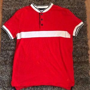 Nautica casual slim fit shirt